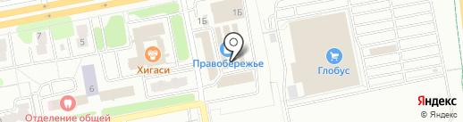 Магазин мужской одежды на карте Калуги