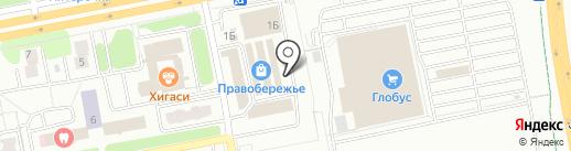 Магазин яиц и полуфабрикатов на карте Калуги
