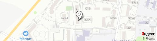 Детская городская поликлиника №4 на карте Калуги