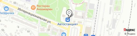 Автостанция+ на карте Курска