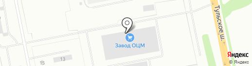 Калужский завод по Обработке Цветных Металлов, ЗАО на карте Калуги