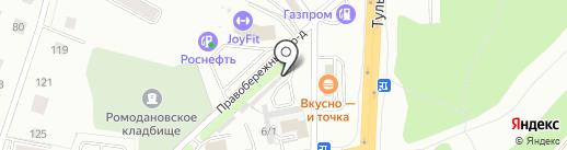 Строй-СП на карте Калуги