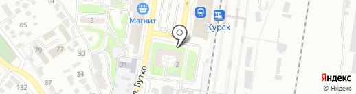 Магазин детской одежды на карте Курска