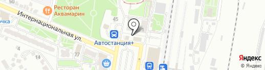 Магазин бытовой химии на карте Курска
