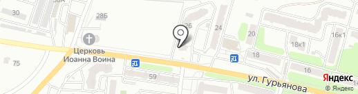 Splendore на карте Калуги