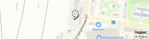 Похоронное агентство на карте Курска