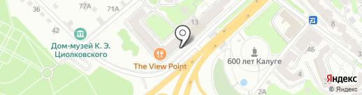 АвтоЧИП-КлючСервис на карте Калуги