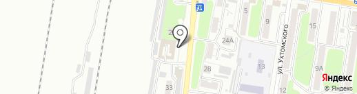 Люкс на карте Курска