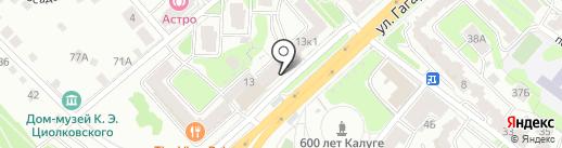 Бутик оборудования для ванной на карте Калуги