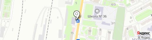 Адвокатский кабинет Гудырева С.Ф. на карте Курска