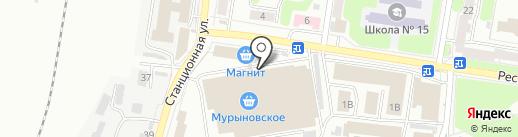 Виноград на карте Курска