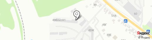 Протей на карте Курска
