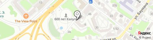 ОТП Банк на карте Калуги