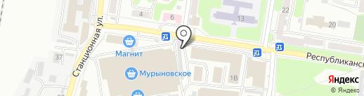 Магазин памятников и оградок на карте Курска