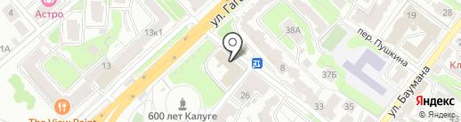 Управление автомобильной магистрали Москва-Бобруйск на карте Калуги