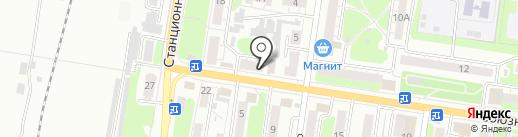 Марианна на карте Курска