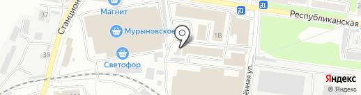 Магазин бытовых товаров на карте Курска