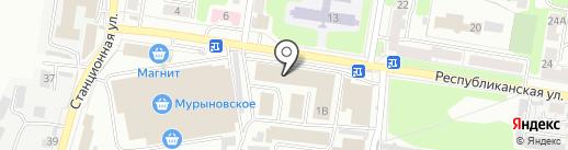 Максимус на карте Курска
