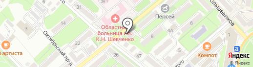 Центр имплантологии доктора Ермакова на карте Калуги