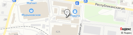 Магазин текстиля на карте Курска