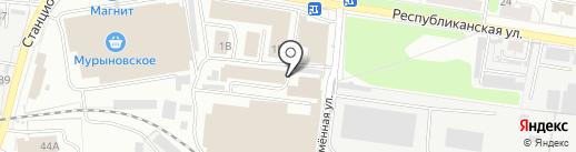 Магазин колбасных изделий на карте Курска