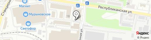 Диана на карте Курска