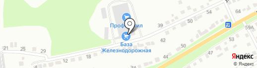 Горяинов А.П. на карте Курска