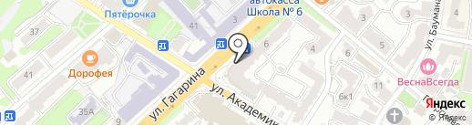 Банкомат, Кошелев-банк на карте Калуги