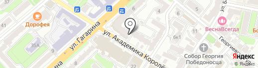 В2 Студия на карте Калуги