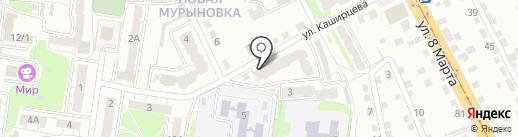 Весна на карте Курска