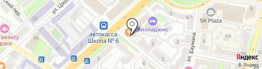 Kofeёk на карте Калуги