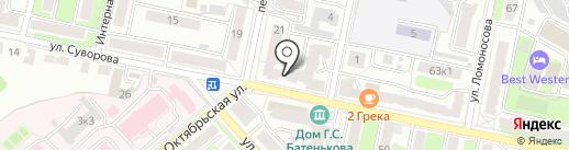 Калуга Москва на карте Калуги