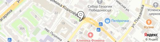 Часовня в честь Смоленской иконы Божией Матери на карте Калуги