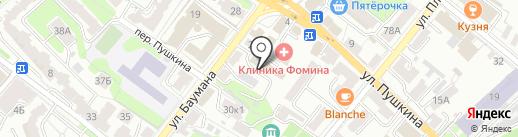 Муниципальный архив г. Калуги на карте Калуги