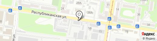 Дельта на карте Курска
