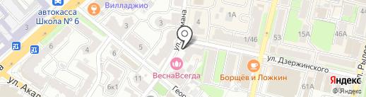 Отдел пенсионного фонда РФ по Калужской области на карте Калуги