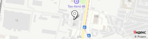 Росток на карте Курска