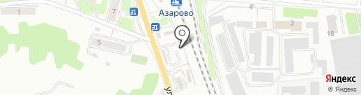 Терем-Теремок на карте Калуги