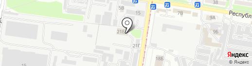 ТЕХ-АВТО 46 на карте Курска