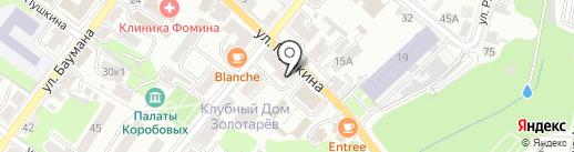 Любимая Калуга на карте Калуги