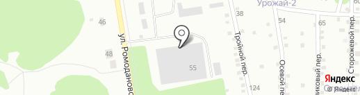 Калужская канцелярская компания на карте Калуги