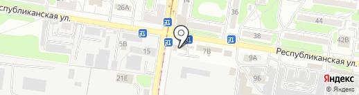ДверьКов на карте Курска