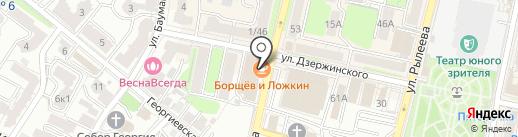 Ренессанс кредит на карте Калуги