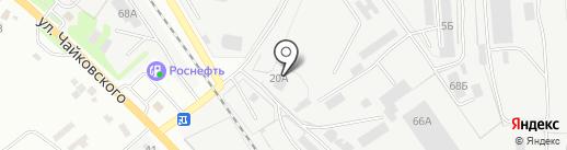 Специальные работы на карте Курска