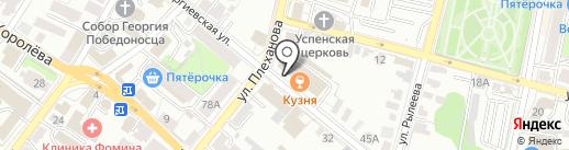 НЕО на карте Калуги