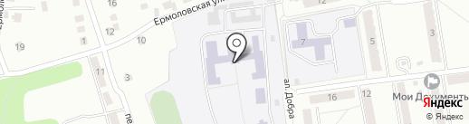Азаровский детский дом-школа им. В.Т. Попова на карте Калуги