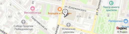 Пресс-маркет на карте Калуги