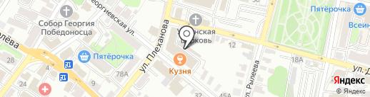 Гарантпост на карте Калуги