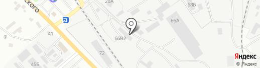 Корн на карте Курска