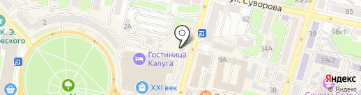 СОВА на карте Калуги